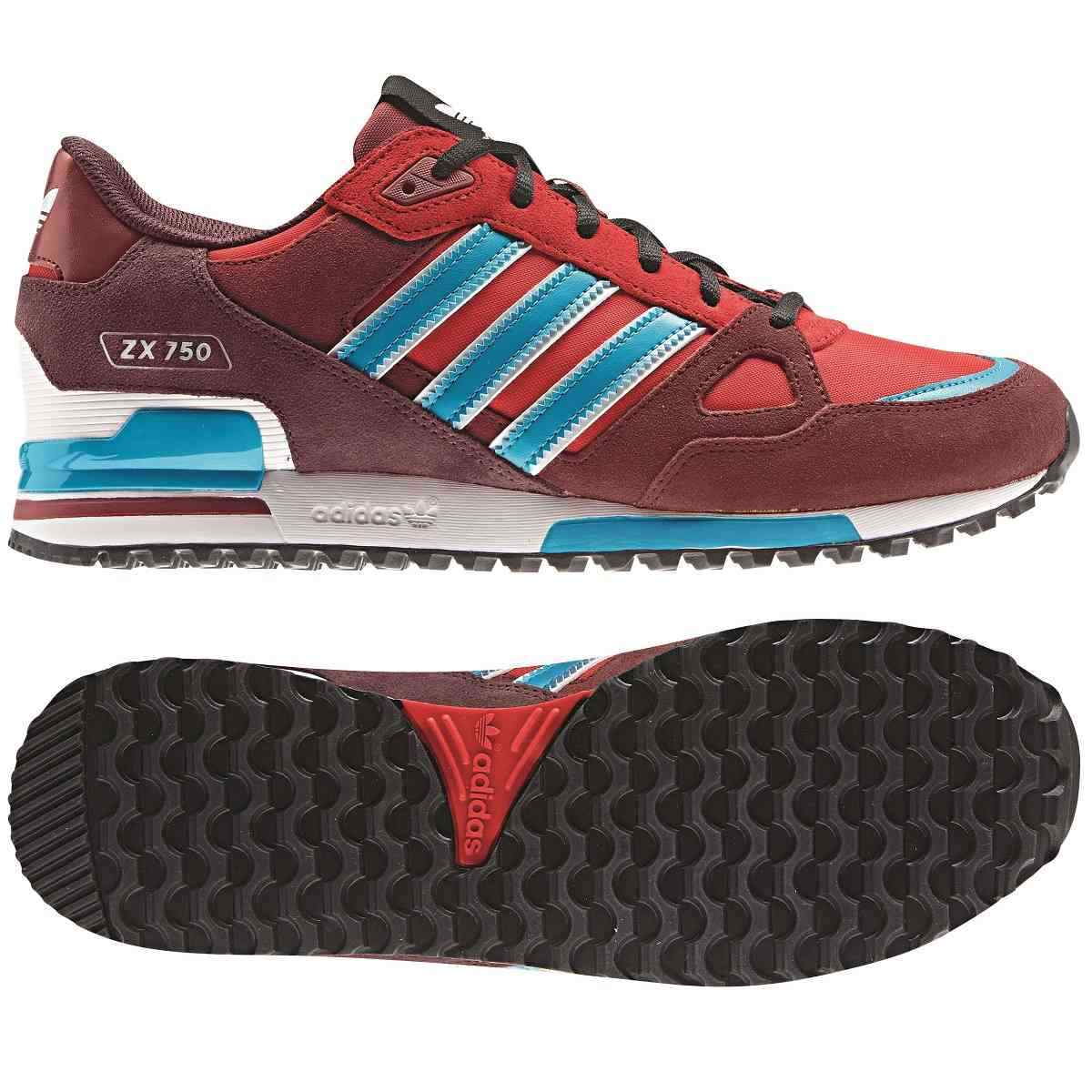adidas zx 850 schuhe turnschuhe sneaker herren wildleder rot ebay. Black Bedroom Furniture Sets. Home Design Ideas