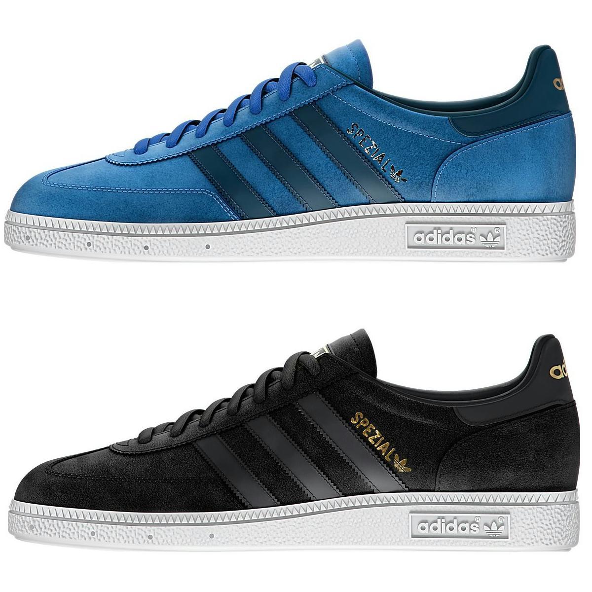 adidas originals spezial herren schuhe sneakers turnschuhe schwarz blau ebay. Black Bedroom Furniture Sets. Home Design Ideas