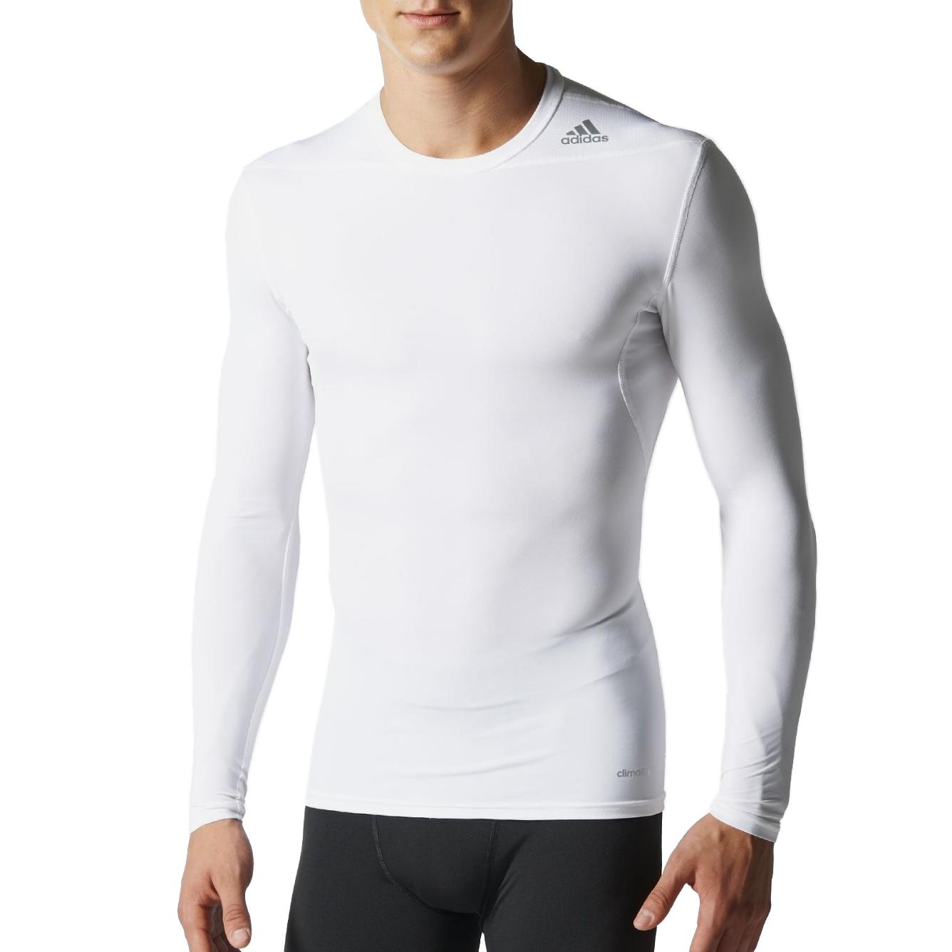 adidas techfit base ls t shirt funktionsshirt langarm. Black Bedroom Furniture Sets. Home Design Ideas