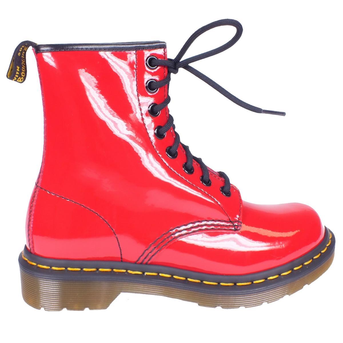 dr doc martens 8 eyelet 1460 damen 8 loch leder boots. Black Bedroom Furniture Sets. Home Design Ideas