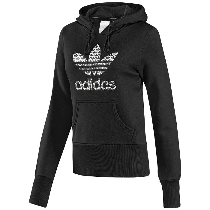 adidas trefoil hoodie damen kapuzen sweatshirt neu 36 ebay. Black Bedroom Furniture Sets. Home Design Ideas