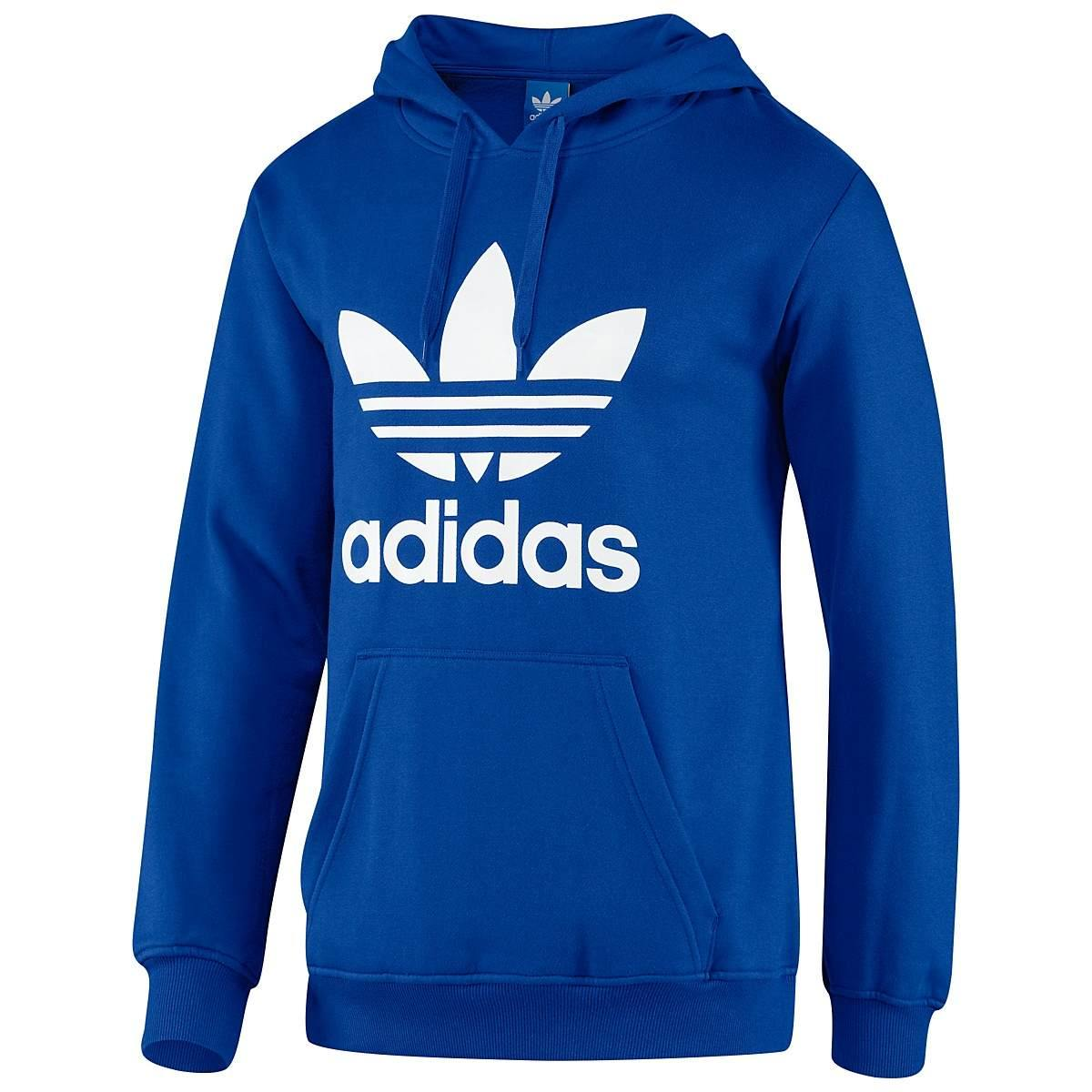 Adidas-Originals-Trefoil-Hoodie-Sweatshirt-Kapuzenpullover-Herren-Diverse-Farben