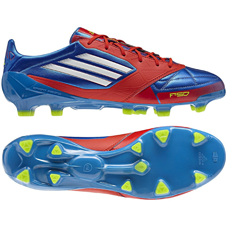 Adidas F50 adizero TRX FG Leather Blue