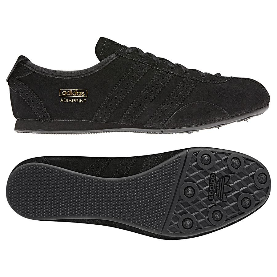 adidas originals adisprint schwarz wildleder damen schuhe sneaker. Black Bedroom Furniture Sets. Home Design Ideas