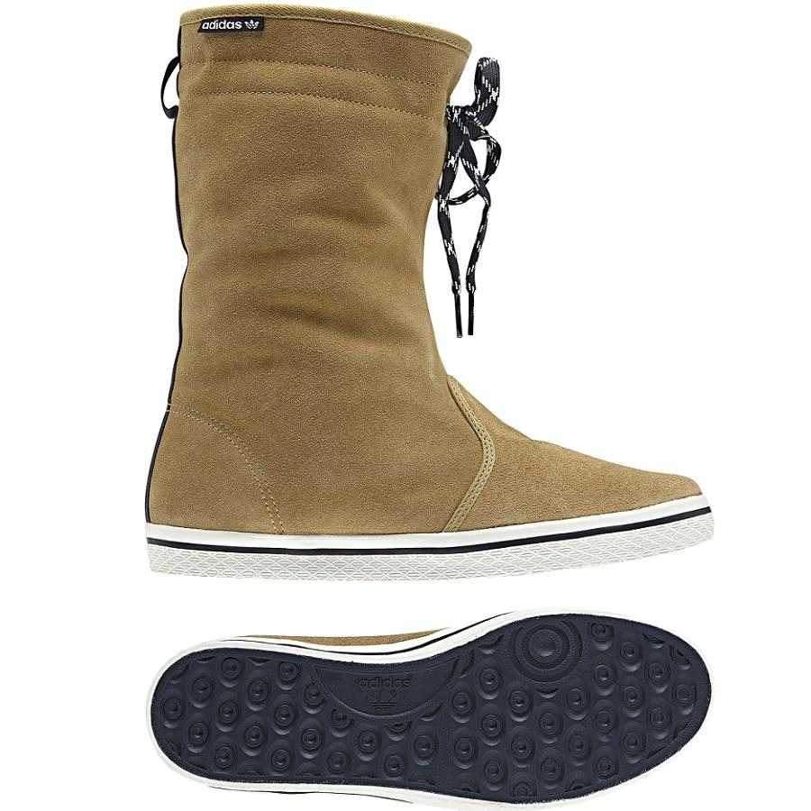 adidas originals honey boot braun damen schuhe stiefel. Black Bedroom Furniture Sets. Home Design Ideas