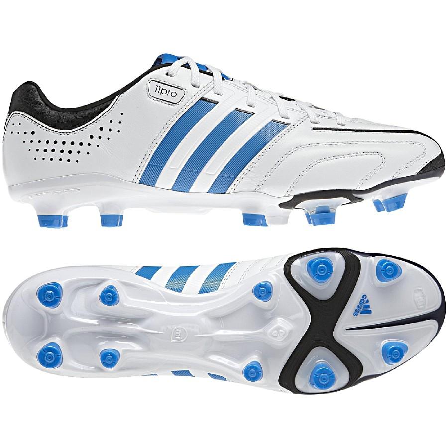 online store e21ee 99e0e ... denmark das bild wird geladen adidas adipure 11pro trx fg  fussballschuhe weiss blau f60a9 293c7