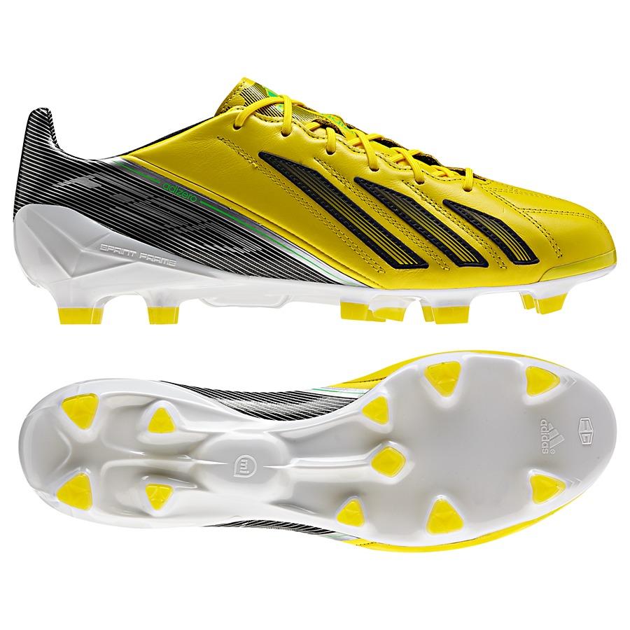 Adidas F50 Adizero TRX FG Leder Yellow