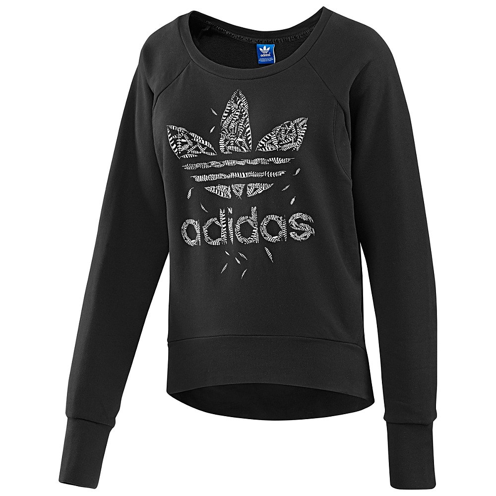 adidas feather sweater damen pullover sportpullover. Black Bedroom Furniture Sets. Home Design Ideas