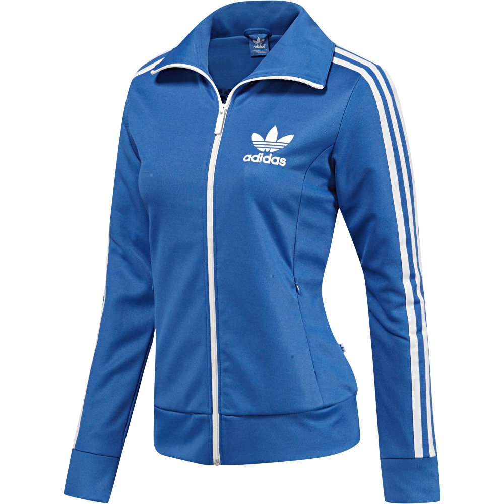 adidas originals europa track jacket bluebird damen jacke traning sport blau ebay. Black Bedroom Furniture Sets. Home Design Ideas