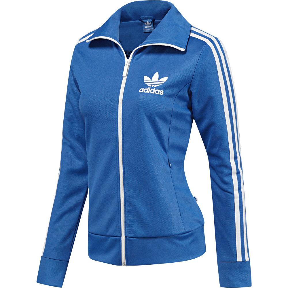 adidas originals europa track jacket bluebird damen jacke. Black Bedroom Furniture Sets. Home Design Ideas