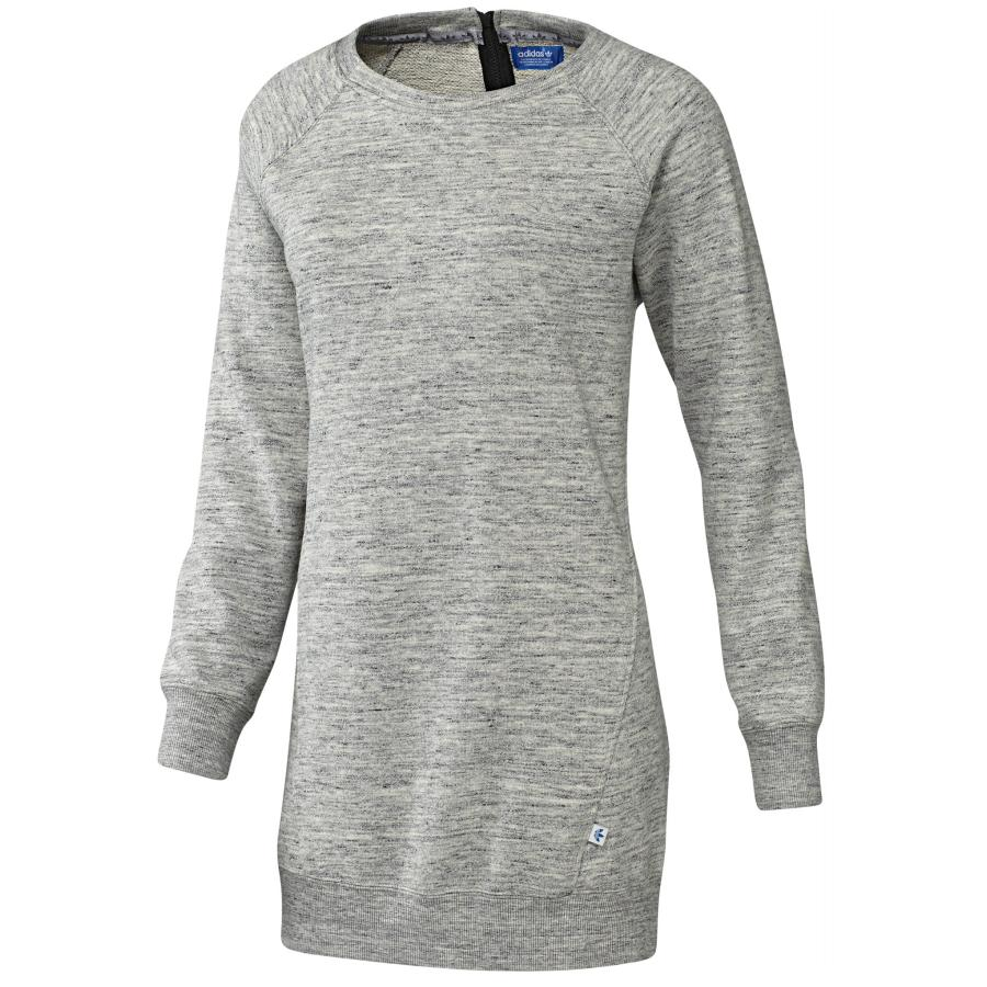 adidas originals feminine sweatshirt dress damen pullover. Black Bedroom Furniture Sets. Home Design Ideas