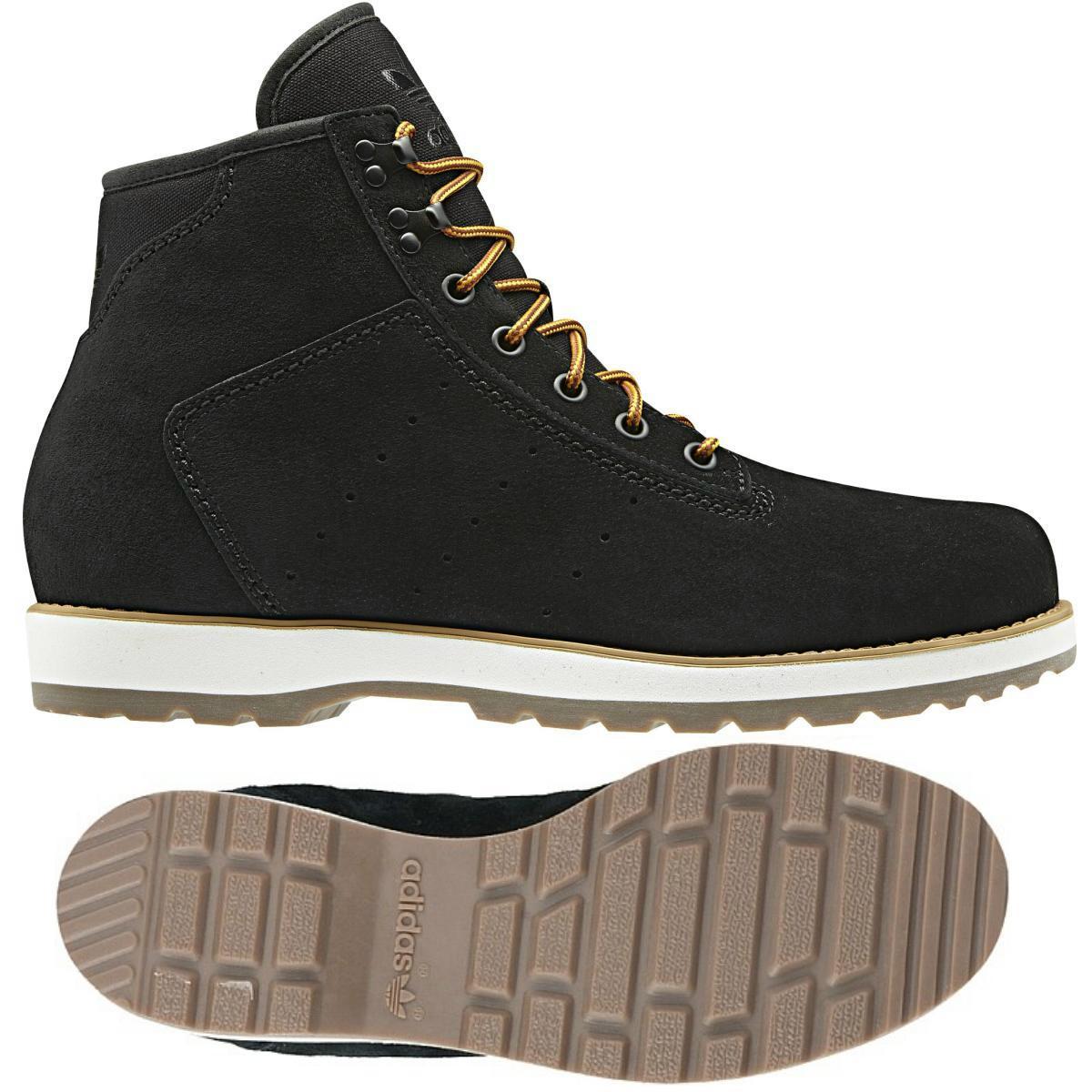 adidas originals navvy boot herren schwarz dunkelbraun schuhe stiefel wildleder. Black Bedroom Furniture Sets. Home Design Ideas