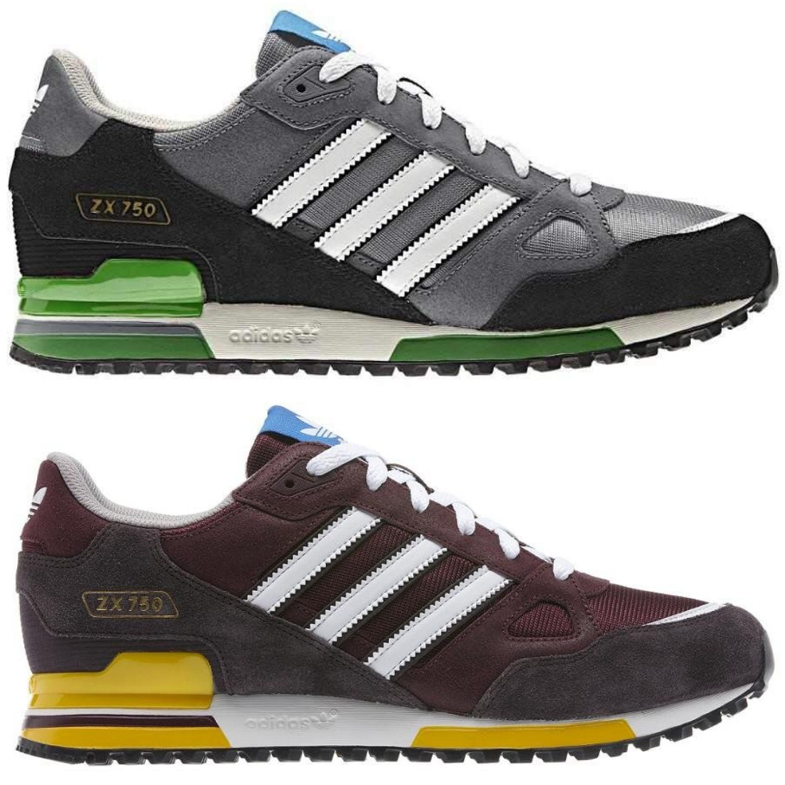 adidas originals zx 750 schuhe turnschuhe sneaker herren. Black Bedroom Furniture Sets. Home Design Ideas