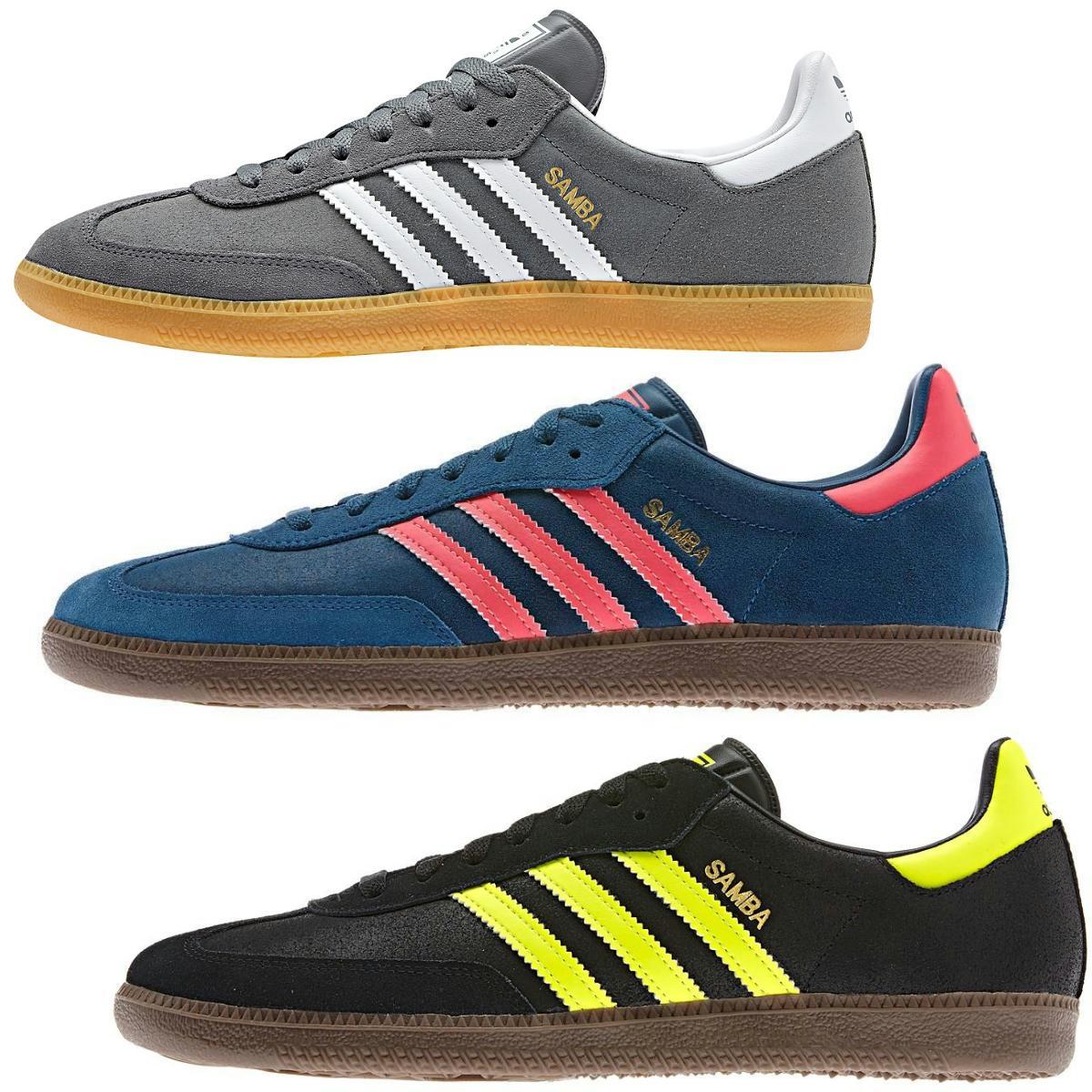 798cef32388ada Das Bild wird geladen Adidas-Originals-Samba-St-Crag-Schuhe-Turnschuhe- Sneakers-
