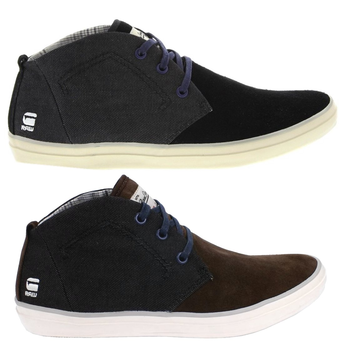 g star raw stun scupper winter mix mid cut sneaker schuhe herren ebay. Black Bedroom Furniture Sets. Home Design Ideas