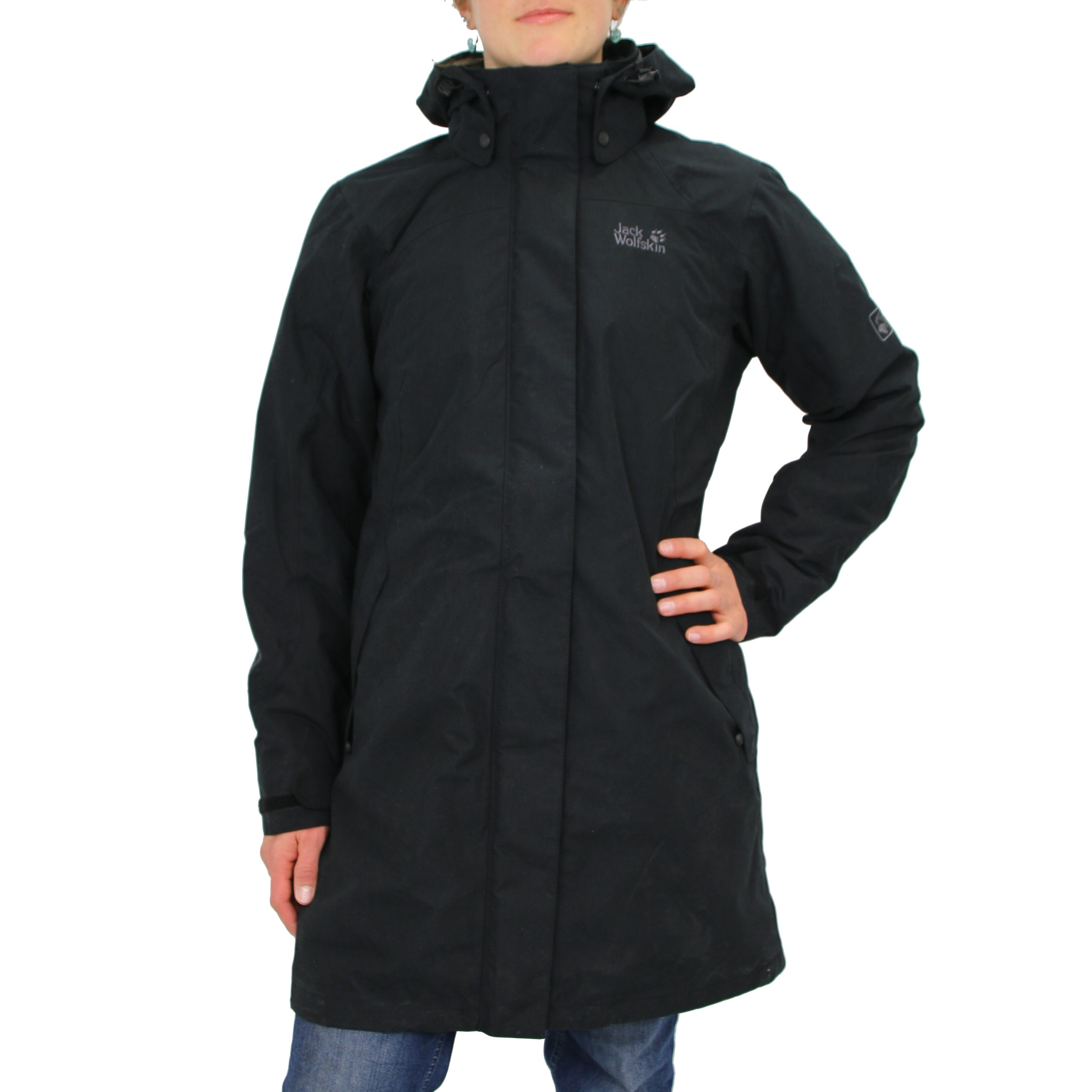 jack wolfskin ottawa coat women 39 s jacket winter coat black. Black Bedroom Furniture Sets. Home Design Ideas
