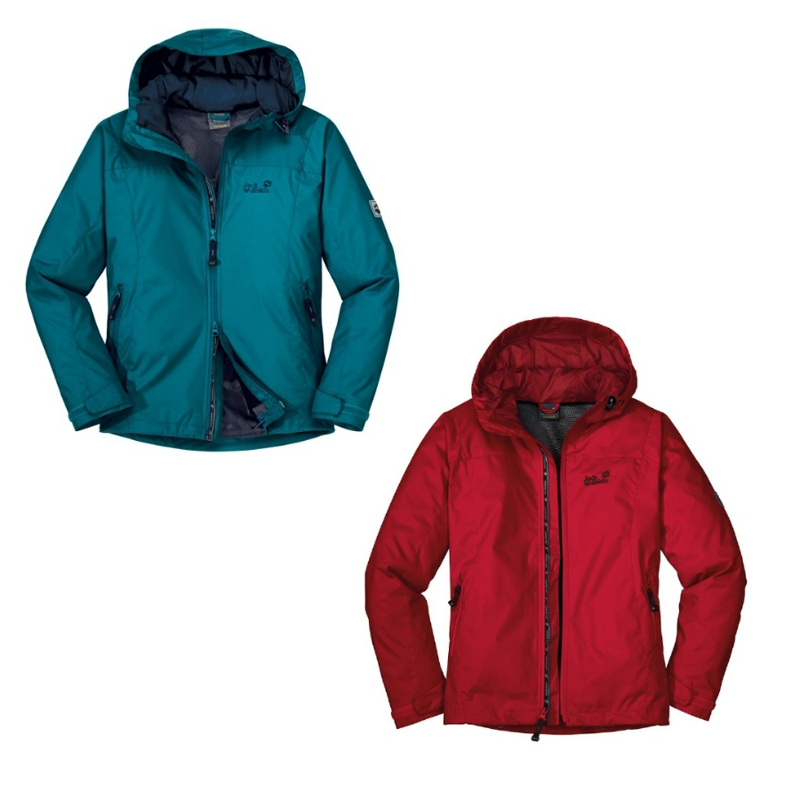 jack wolfskin vortex jacket damen outdoor jacke kapuze. Black Bedroom Furniture Sets. Home Design Ideas