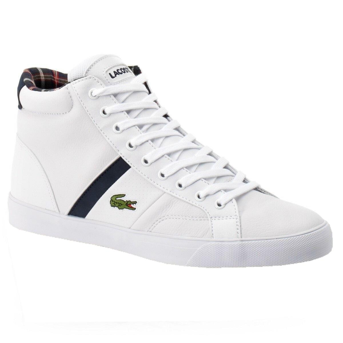 lacoste fairlead mid lup herren schuhe high top sneakers. Black Bedroom Furniture Sets. Home Design Ideas
