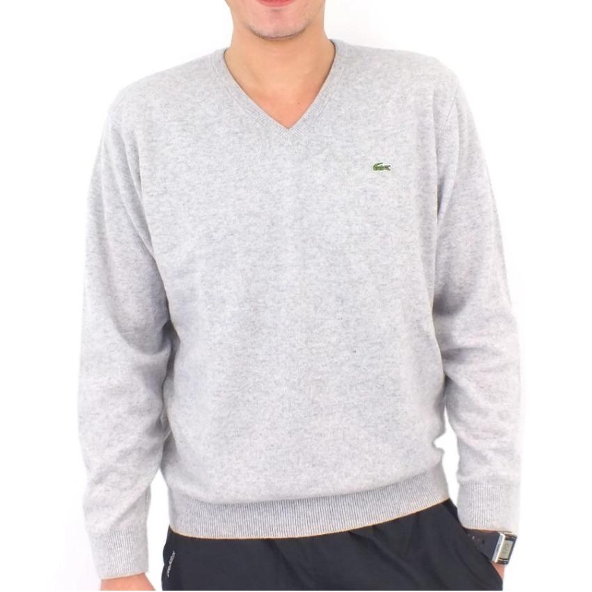 lacoste pullover wollpullover strickpullover v ausschnitt wolle herren ebay. Black Bedroom Furniture Sets. Home Design Ideas