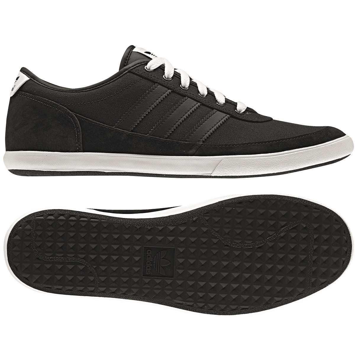 adidas court spin schuhe turnschuhe sneaker herren schwarz grau ebay. Black Bedroom Furniture Sets. Home Design Ideas
