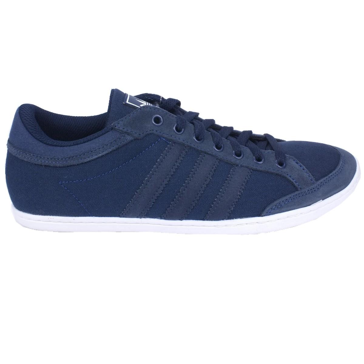 Adidas Sneaker Grau Blau