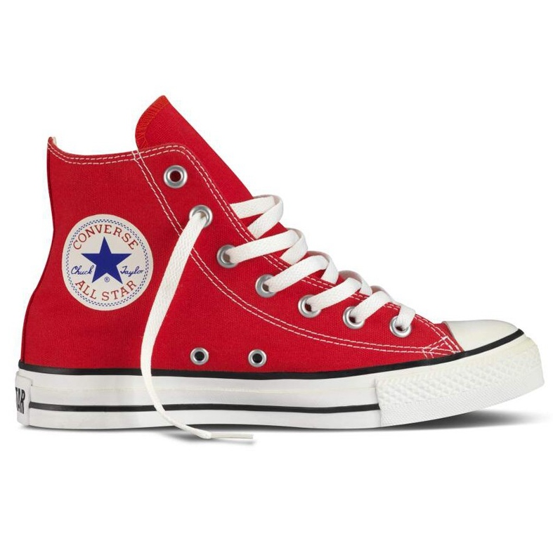 converse chucks all star hi rot schuhe neu ebay. Black Bedroom Furniture Sets. Home Design Ideas