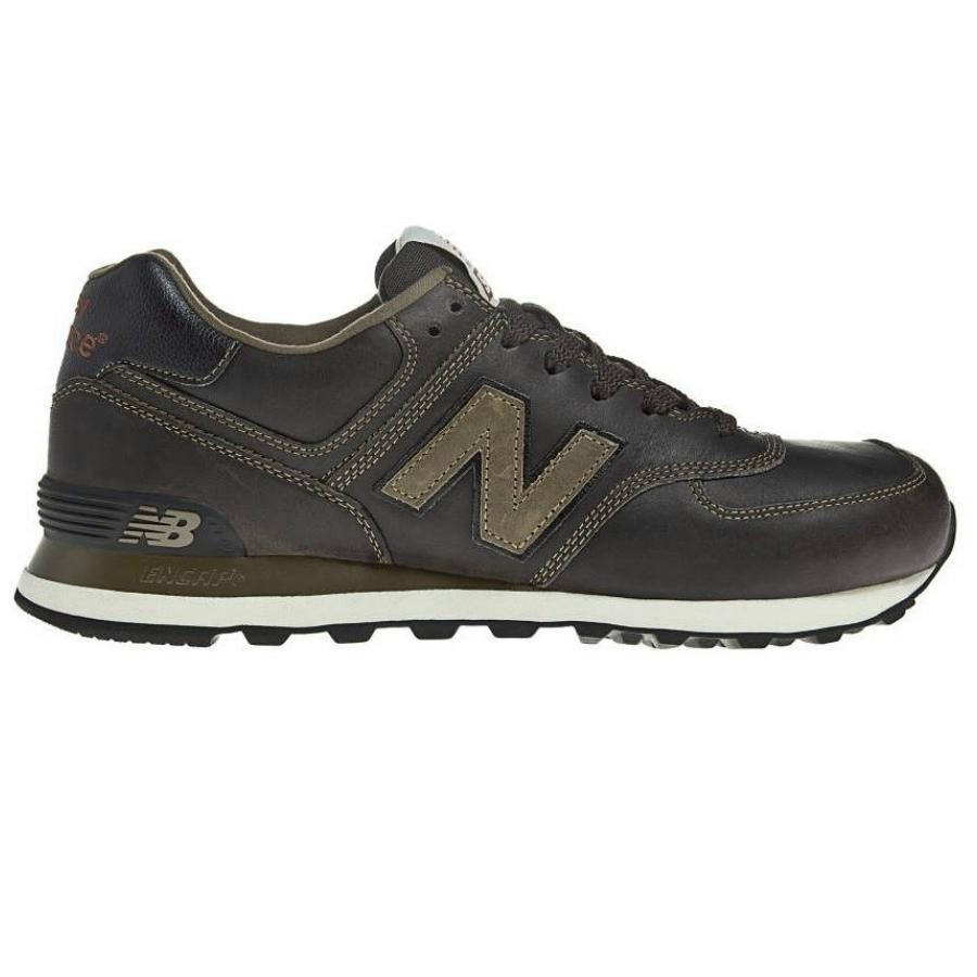 New-Balance-ML-574-Leder-Schuhe-Turnschuhe-Sneaker-Herren-UKW-UKD-LLN-LLG