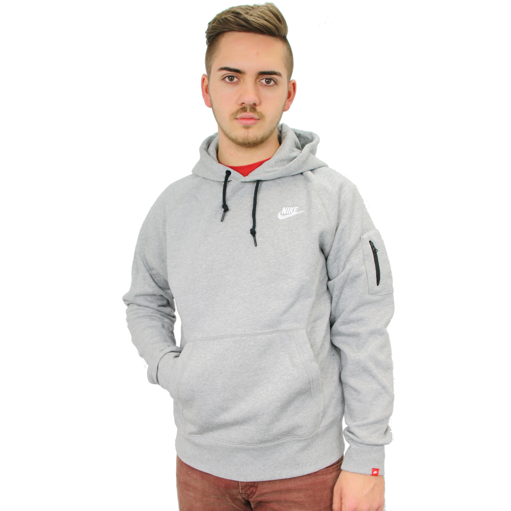 nike aw77 fleece hoody men sweater hoodie sweater ebay. Black Bedroom Furniture Sets. Home Design Ideas