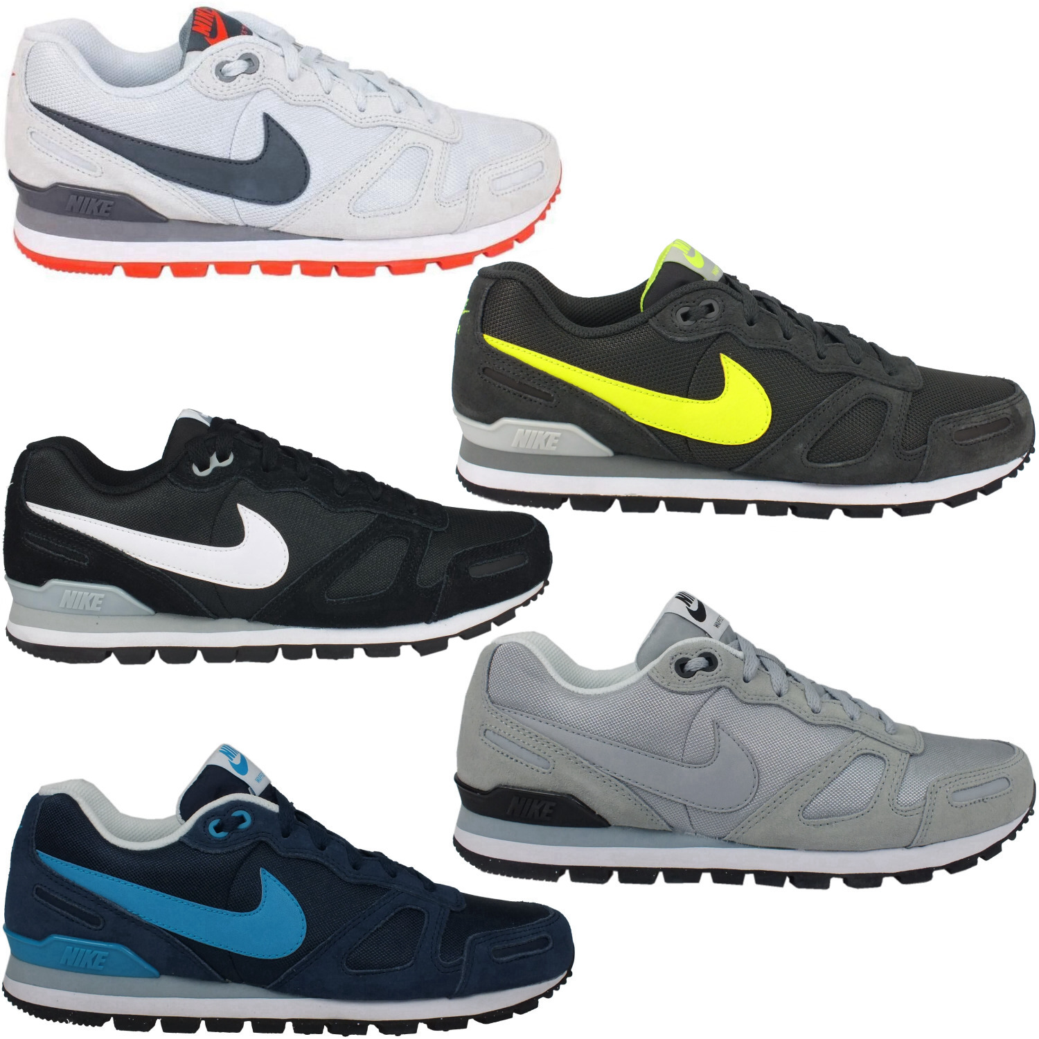 nike air waffle trainer herren schuhe turnschuhe sneaker diverse farben ebay. Black Bedroom Furniture Sets. Home Design Ideas