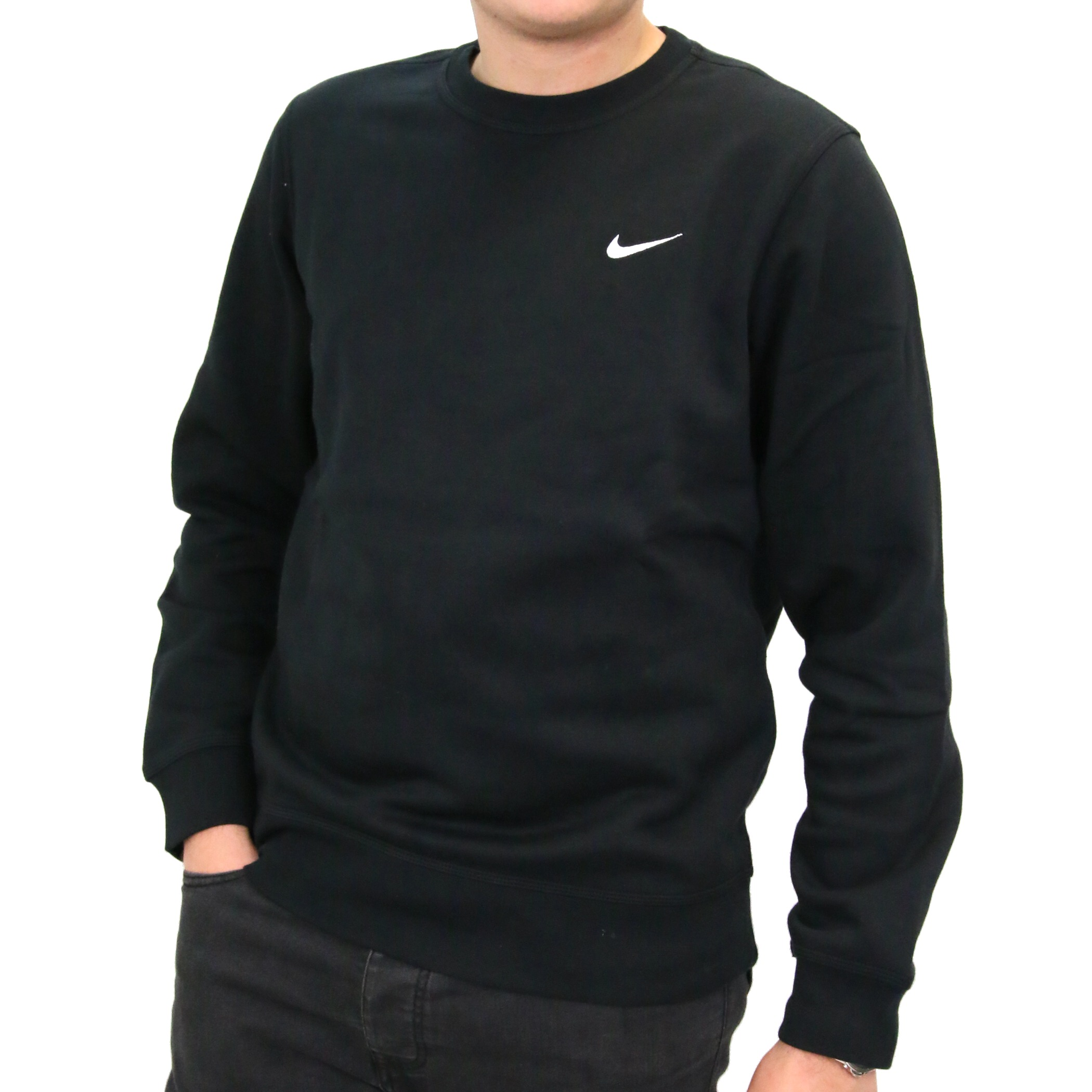 nike club crew pull sweatshirt hommes fitness pull hiver pull ebay. Black Bedroom Furniture Sets. Home Design Ideas