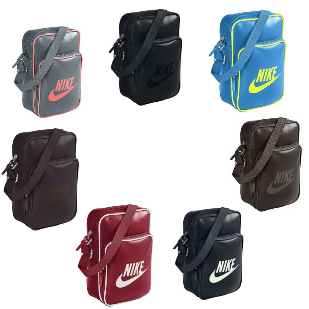7f39879acf Das Bild wird geladen Nike-Heritage-Small-Items-II -verschiedene-Farben-Tasche-