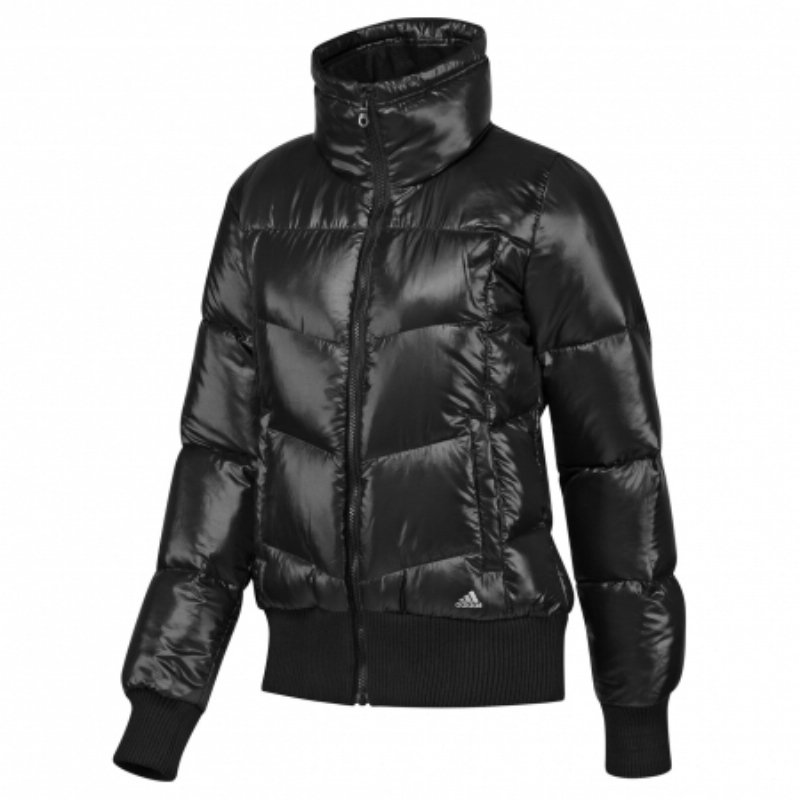 adidas down bomber jacket damen jacke daunenjacke. Black Bedroom Furniture Sets. Home Design Ideas