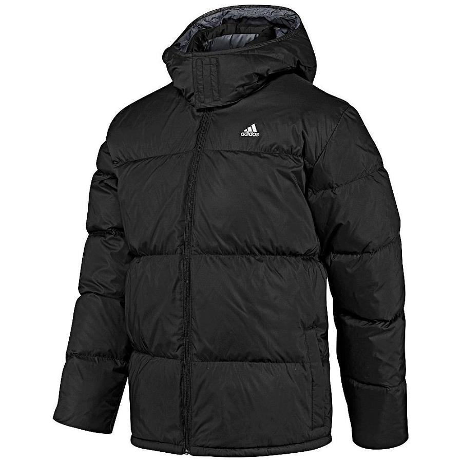 adidas basic down jacket herren daunenjacke m schwarz ebay. Black Bedroom Furniture Sets. Home Design Ideas