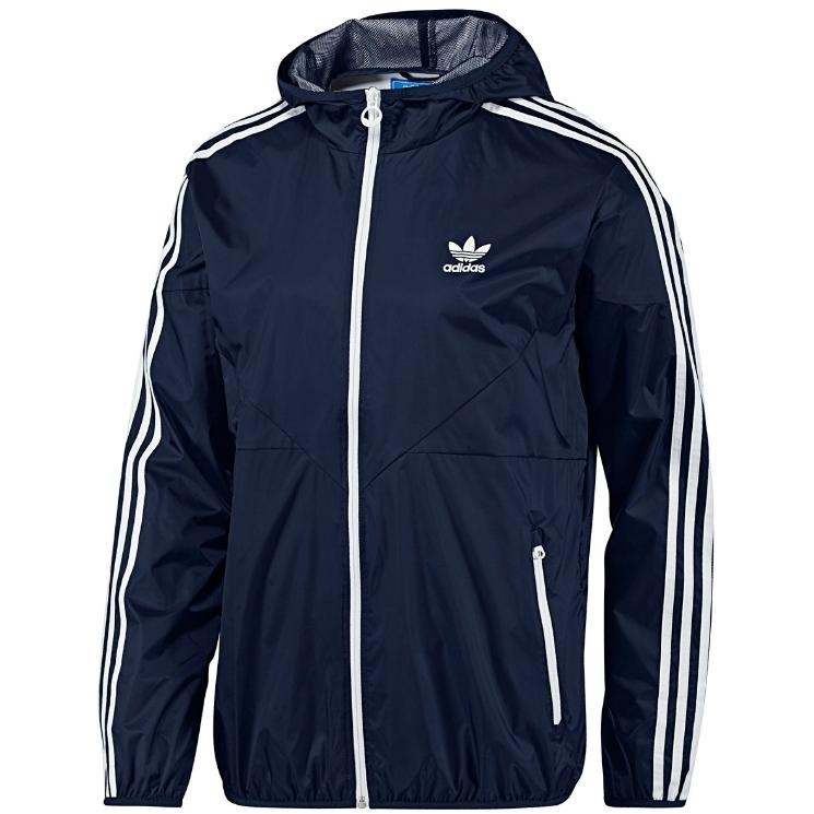 adidas originals colorado windbreaker indigo blau herren. Black Bedroom Furniture Sets. Home Design Ideas
