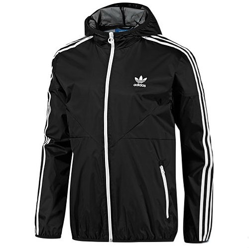 adidas colorado windbreaker herren jacke schwarz s ebay. Black Bedroom Furniture Sets. Home Design Ideas