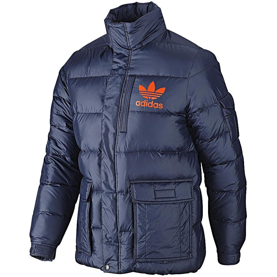 adidas ac down jacket herren jacke blau m daunenjacke. Black Bedroom Furniture Sets. Home Design Ideas