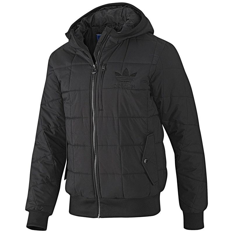 adidas padded jacket herren jacke l schwarz neu. Black Bedroom Furniture Sets. Home Design Ideas