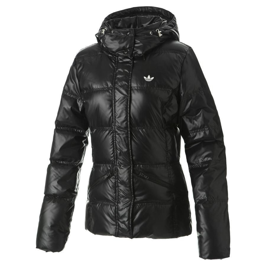 adidas short down jacket schwarz 34 damen daunenjacke ebay. Black Bedroom Furniture Sets. Home Design Ideas