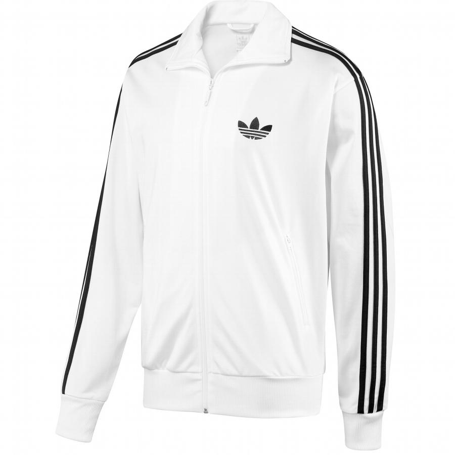 adidas firebird tt tracktop wei schwarz jacke neu l. Black Bedroom Furniture Sets. Home Design Ideas
