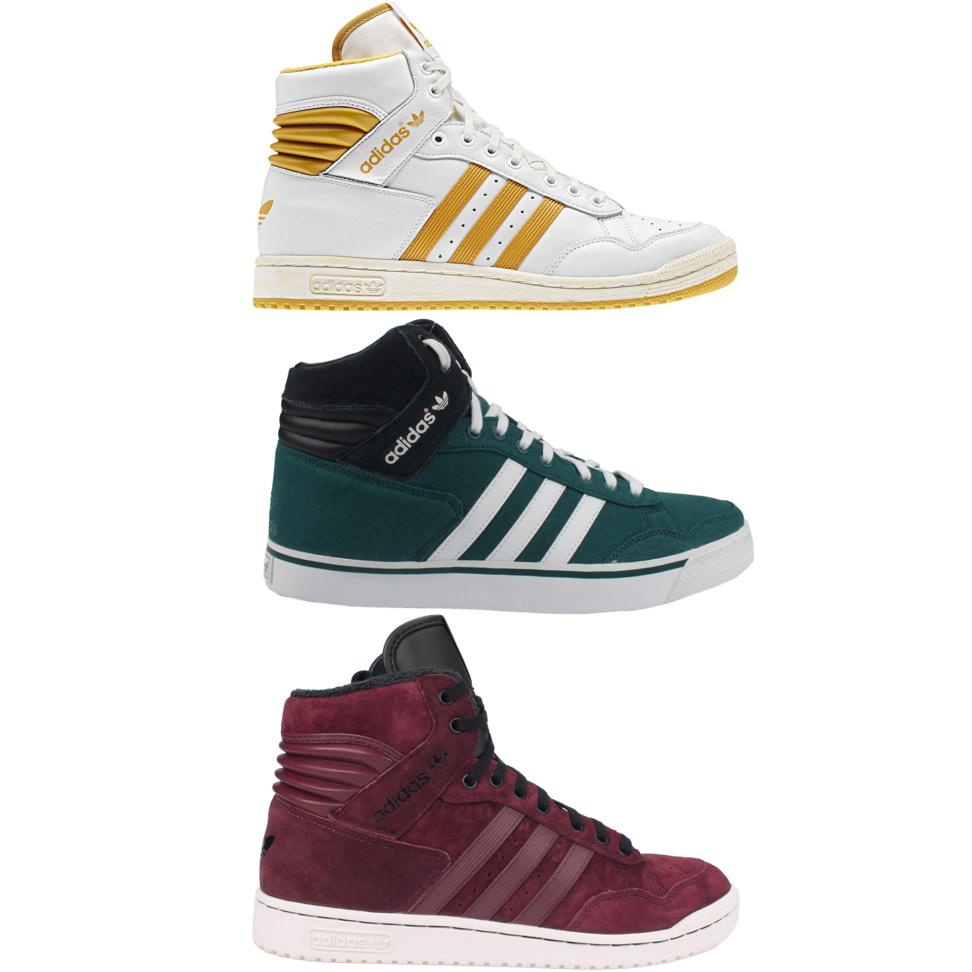 adidas originals pro conference hi men 39 s high top sneaker. Black Bedroom Furniture Sets. Home Design Ideas