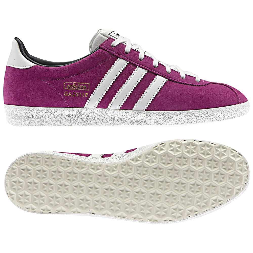adidas originals gazelle og schuhe sneaker damen pink wei. Black Bedroom Furniture Sets. Home Design Ideas