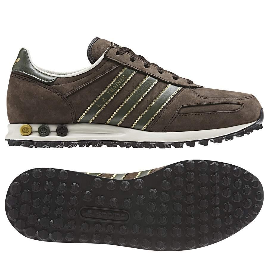 scarpe adidas trainer marroni