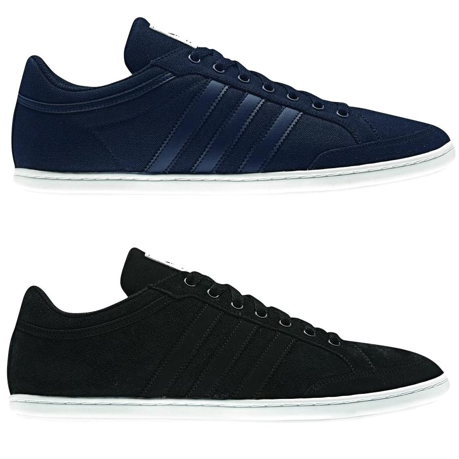 adidas plimcana low schuhe sneaker herren schwarz blau ebay. Black Bedroom Furniture Sets. Home Design Ideas