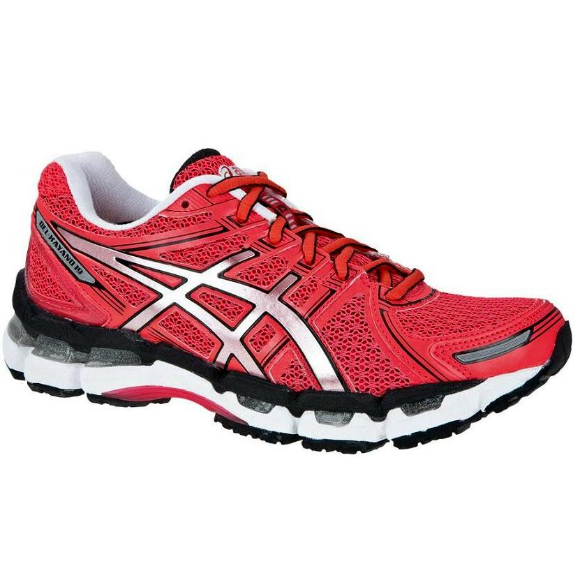 asics gel kayano 19 w rot damen schuhe laufschuhe. Black Bedroom Furniture Sets. Home Design Ideas