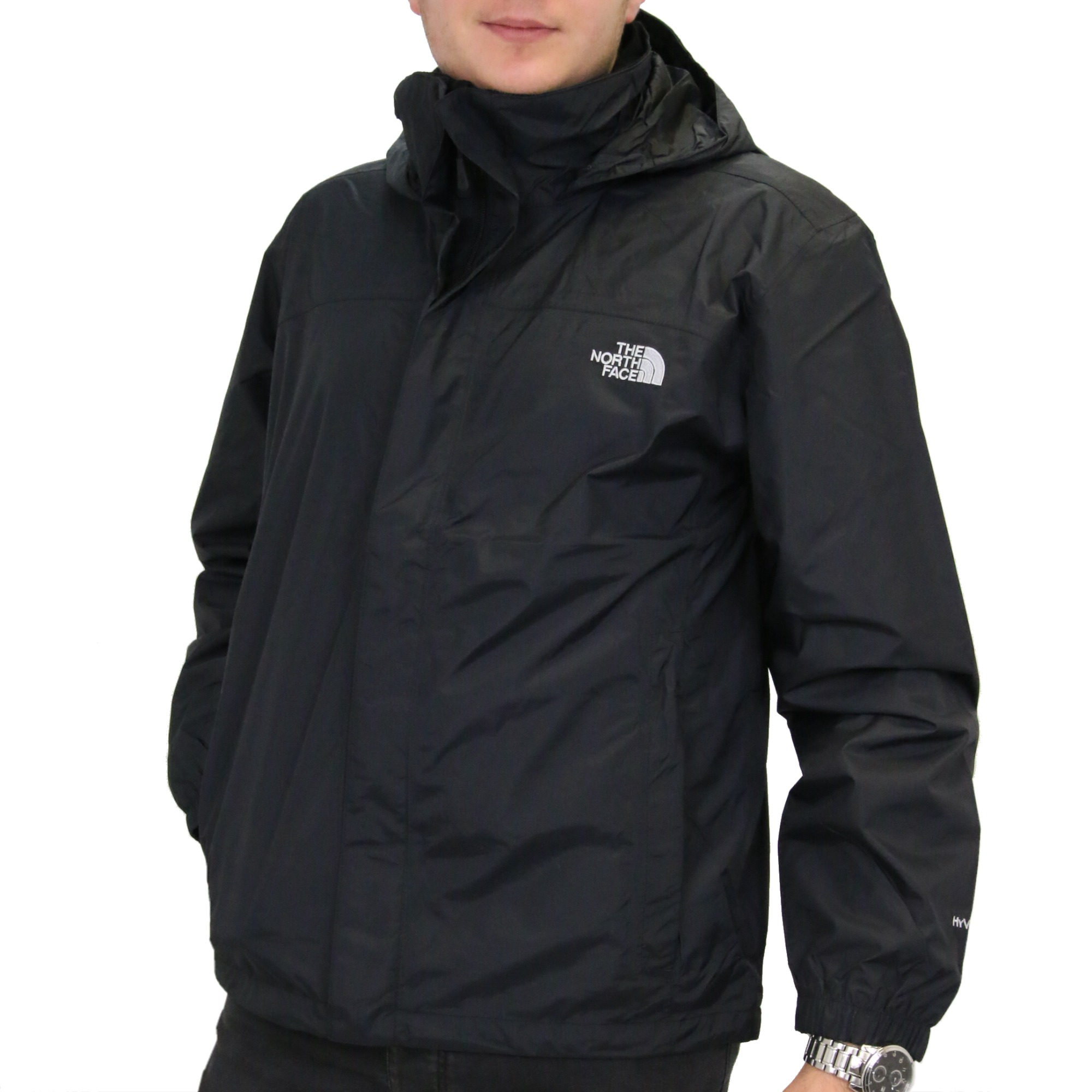 the north face resolve herren jacke windjacke regenjacke hyvent ebay. Black Bedroom Furniture Sets. Home Design Ideas