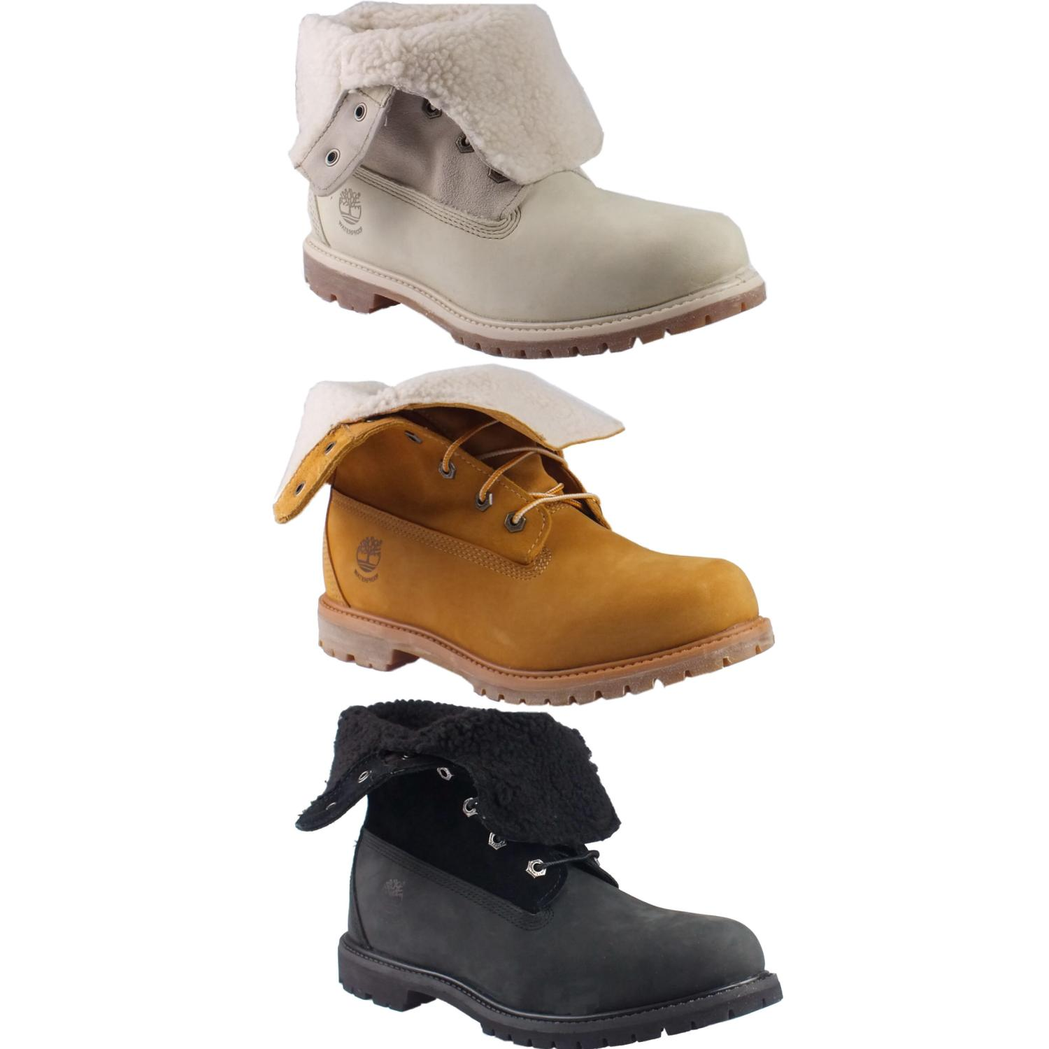 timberland authentics damen kinder schuhe stiefel winterstiefel diverse farben ebay. Black Bedroom Furniture Sets. Home Design Ideas