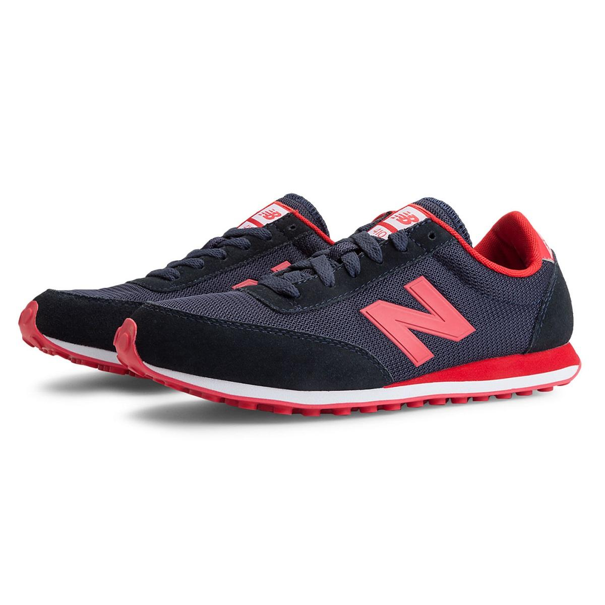 new balance ul 410 schuhe turnschuhe sneaker damen lila rot grau ebay. Black Bedroom Furniture Sets. Home Design Ideas