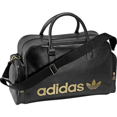 adidas adicolor teambag schwarz gold gro e tasche ebay. Black Bedroom Furniture Sets. Home Design Ideas