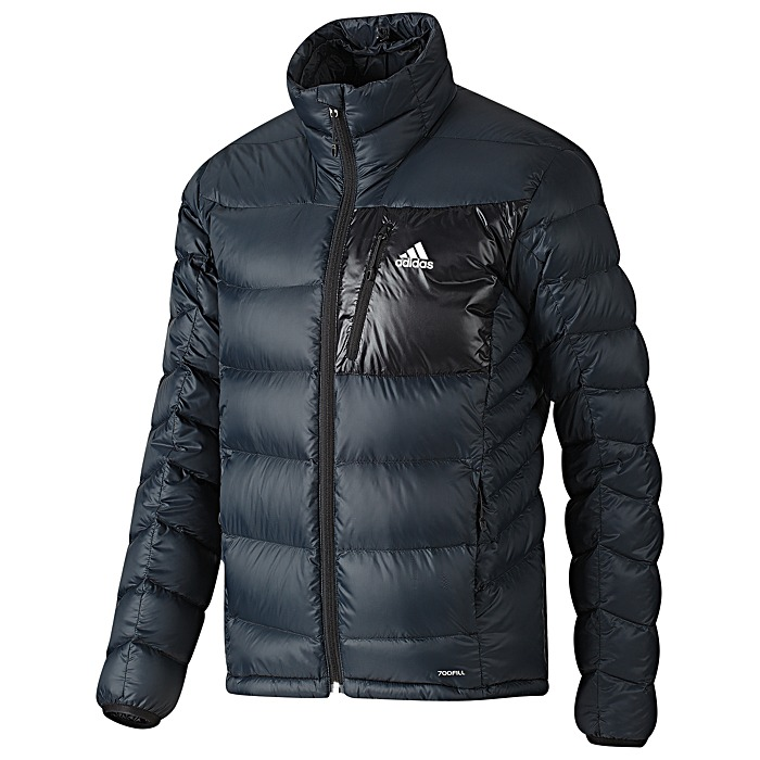 adidas super trekking light down jacket herren daunenjacke. Black Bedroom Furniture Sets. Home Design Ideas