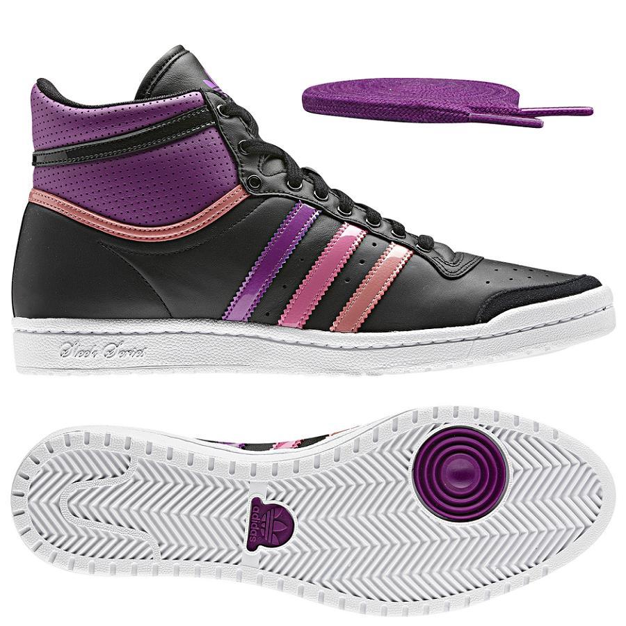 adidas originals top ten hi sleek w schuhe high top sneaker damen. Black Bedroom Furniture Sets. Home Design Ideas
